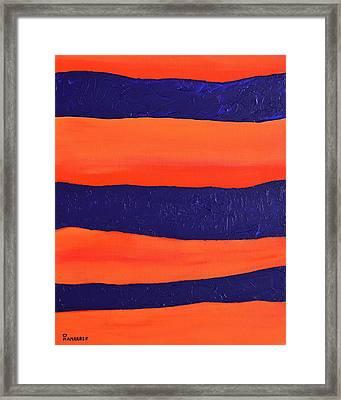 Desert Streams Framed Print