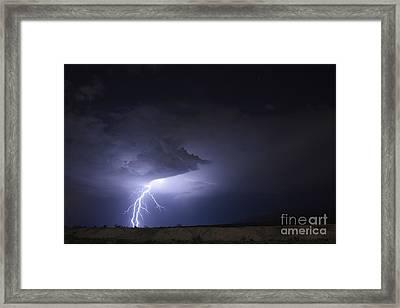 Desert Strike Framed Print