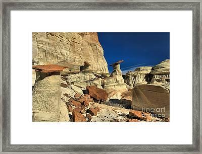 Desert Towers Framed Print by Adam Jewell