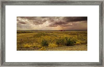 Desert Travelers Framed Print