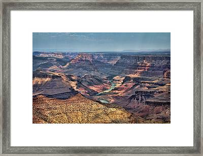 Framed Print featuring the photograph Desert View by Jemmy Archer