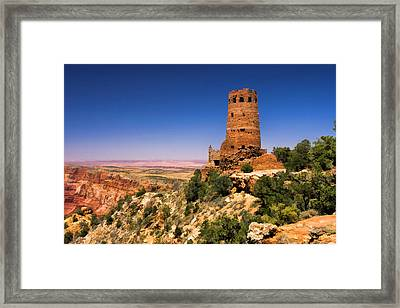 Desert View Watchtower Framed Print by Christopher Arndt