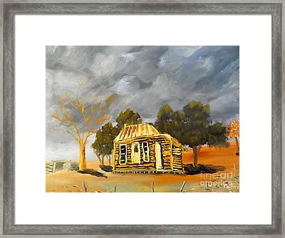 Deserted Castlemain Farmhouse Framed Print