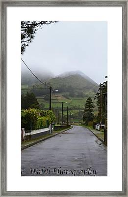 Deserted Framed Print by Erin Walsh