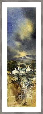 Deserted Farm West Cork Framed Print by Roland Byrne