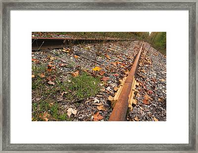 Deserted Roads. Framed Print