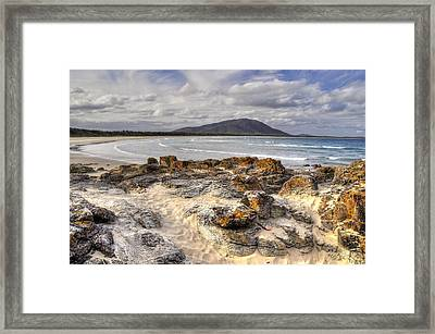 Deserted Shore Framed Print by Terry Everson