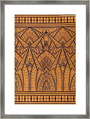 Design For A Pattern Illustration From Studies In Design Framed Print by Christopher Dresser