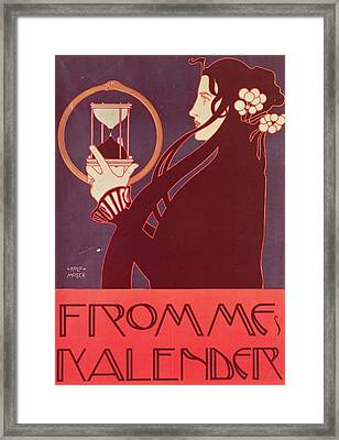 Design For The Frommes Calendar Framed Print by Kolo