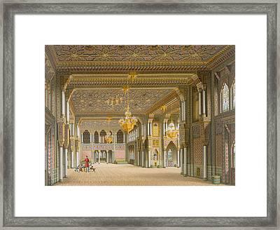 Design For The Interior Of Wilhelma Framed Print