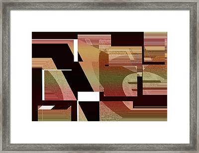 Design Spin 75 Framed Print by Joe Connors