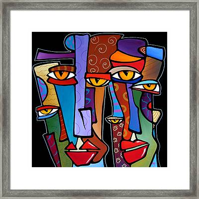 Design Stars By Fidostudio Framed Print by Tom Fedro - Fidostudio