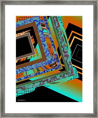 Design Texture And Color Framed Print by Mario Perez