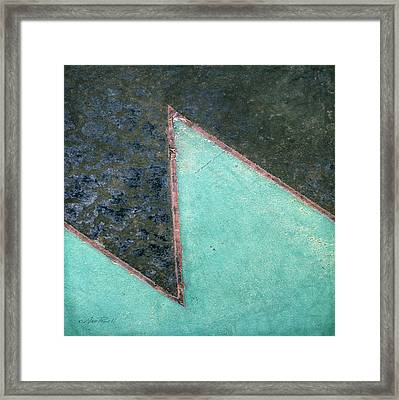 Design Underfoot   Abstract Photograph Framed Print by Ann Powell