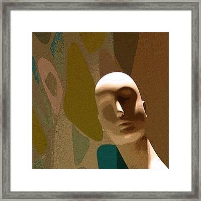 Design With Mannequin Framed Print by Ben and Raisa Gertsberg