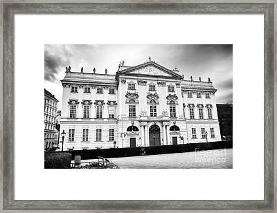Palais Trautson Design Framed Print by John Rizzuto