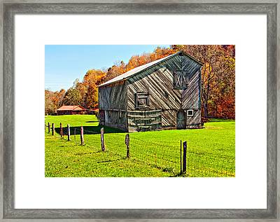 Designer Barn Framed Print by Steve Harrington