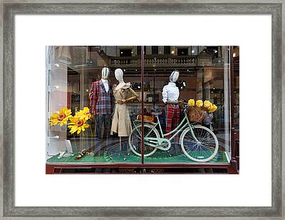 Designer's Tour De France Framed Print
