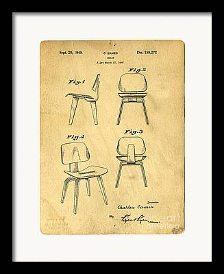 Chair Drawings Framed Prints