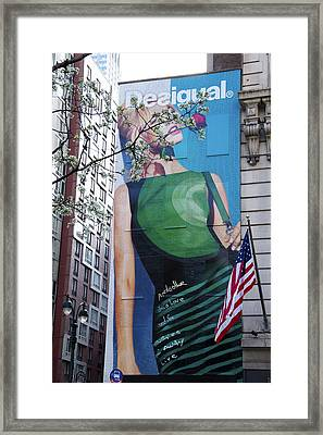 Desigual Framed Print by Alice Gipson