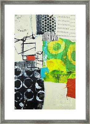 Desintegration Framed Print by Elena Nosyreva