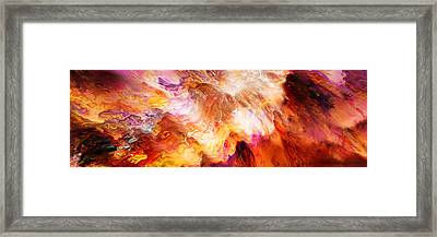 Desire - Abstract Art Framed Print by Jaison Cianelli