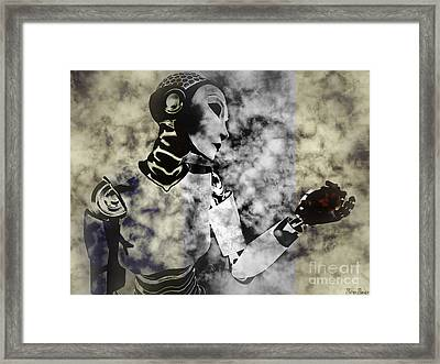 Desire For Humanity Framed Print by Sina Souza