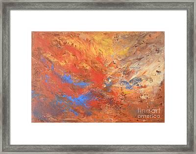 Desire Framed Print by Jane  See