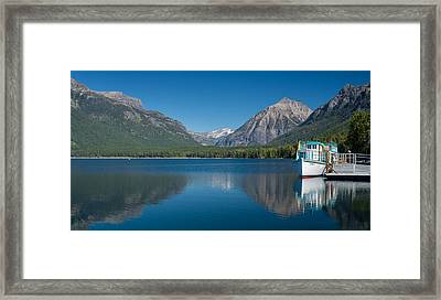 Desmet Waits For Tour Framed Print by Greg Nyquist
