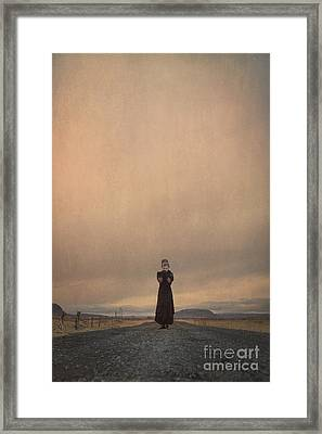 Desolate Ever After Framed Print by Evelina Kremsdorf