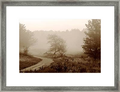 Framed Print featuring the photograph Desolation  by Bruce Patrick Smith