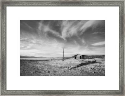 Desolation Framed Print by Hugh Smith