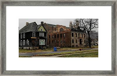 Desolation Row In Color Framed Print
