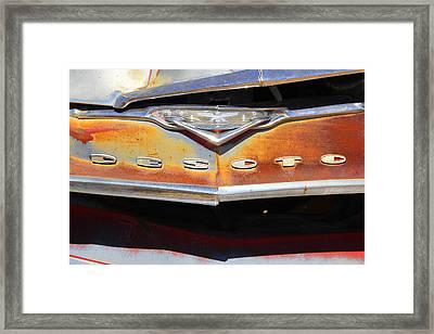 Desoto 2 Framed Print by Mike McGlothlen
