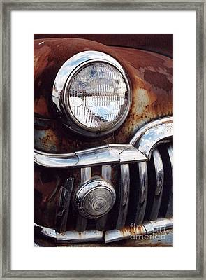 Desoto Headlight Framed Print
