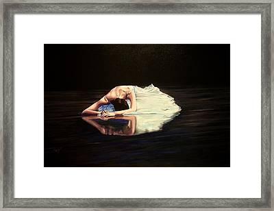 Despair Framed Print by Maren Jeskanen
