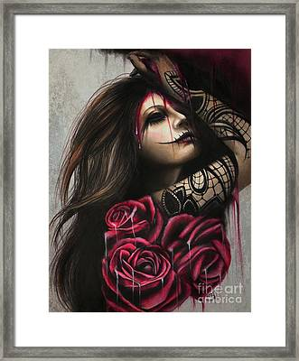 Despair Framed Print by Sheena Pike