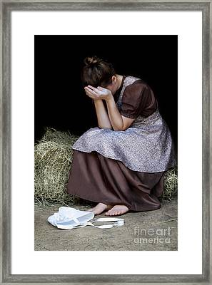 Despair Framed Print by Stephanie Frey