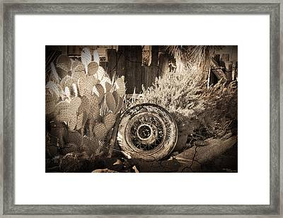 Desperate Framed Print