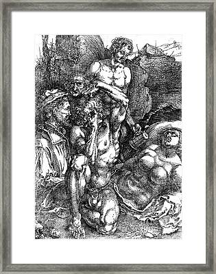Desperate Man 1515 Framed Print