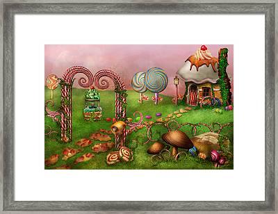 Dessert - Sweet Dreams Framed Print by Mike Savad