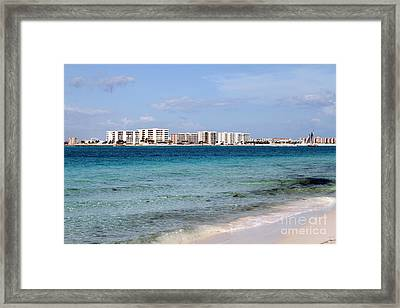Destin Beaches Framed Print