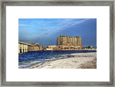 Destin Bridge Framed Print