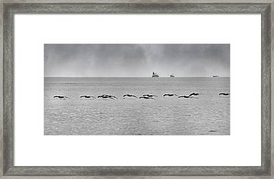 Destination Framed Print by Betsy Knapp