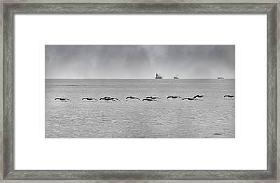 Destination Framed Print