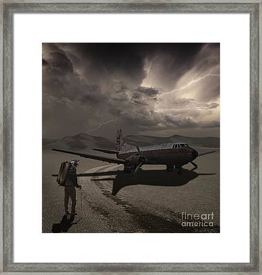 Destination Known Framed Print by Keith Kapple