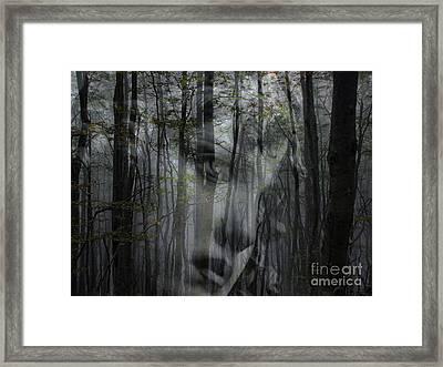Destination Uncertain Framed Print by Elizabeth McTaggart