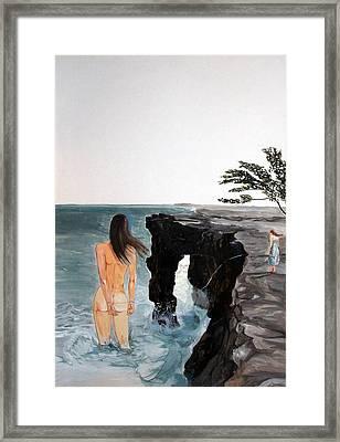 Destinos Framed Print by Lazaro Hurtado