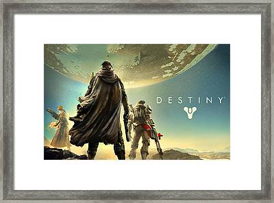 Destiny 1  Framed Print
