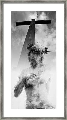 Destiny And Prophecy Framed Print by Daniel Hagerman